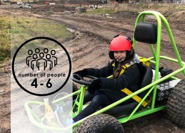 Junior & Family Dirt Karts | 4-6 people