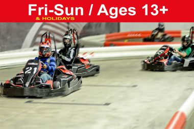 Reservation for 3 Races (Save $16)