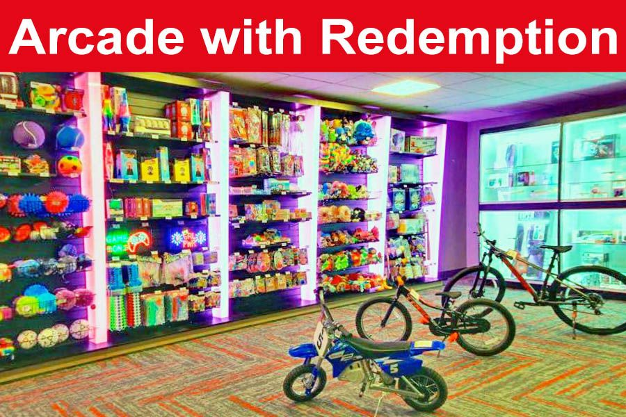 $75 worth of Arcade game play including redemption (save $25) $50