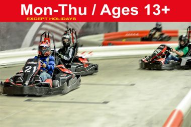 Reservation for 2 PRIVATE Races for up to 10 ppl (Save up to $40)