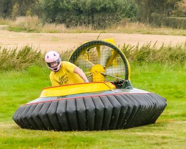 Hovercraft Flying