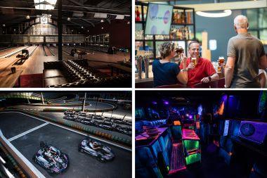 E-Karten Bowlen Lasergamen & Drinks