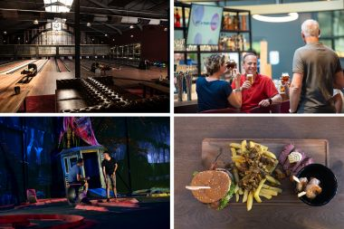 Bowlen, Glow in the dark Golf, Drinks & Awesome Tasting
