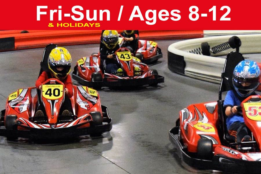Reservation for 3 Races (Save $16) Junior Weekends