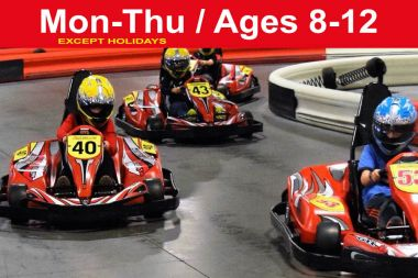 Reservation for 3 PRIVATE Races (Save up to $142) Junior Weekdays