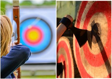 Archery and Axe Throwing