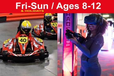 Reservation for 1 Race + 1 VR Sessions (Save $3)