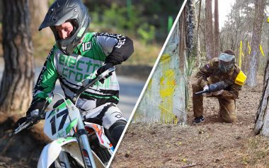 2 runs crossen volwassenen & Paintball