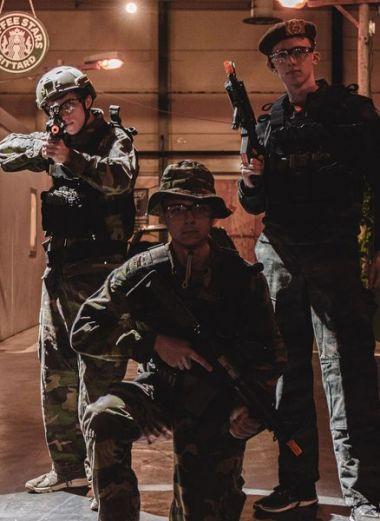 Kids Airsoft Soldier 2 uur