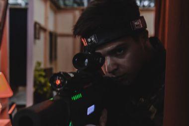Kids Tactical Lasertag 1 uur (inclusief kidsmenu)