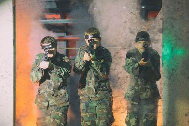Kids Tactical Lasertag 3 uur (inclusief kidsmenu)