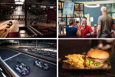 Karten Bowlen Drinks & Burger