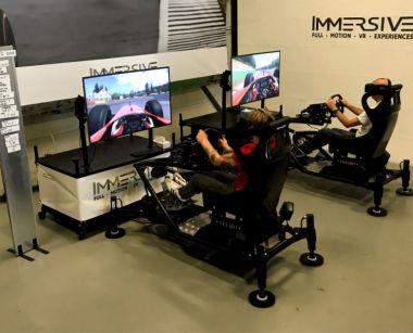 Sim-Racen met bewegende simulatoren in Nederland