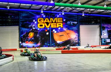 Game Over Auckland - 2 Go Kart Races (Adult)