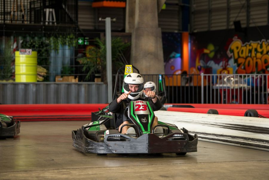 Game Over Auckland - 3 Go Kart Races (Adult)