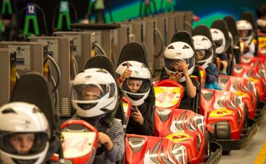 Game Over Auckland - 3 Go Kart Races (Junior)