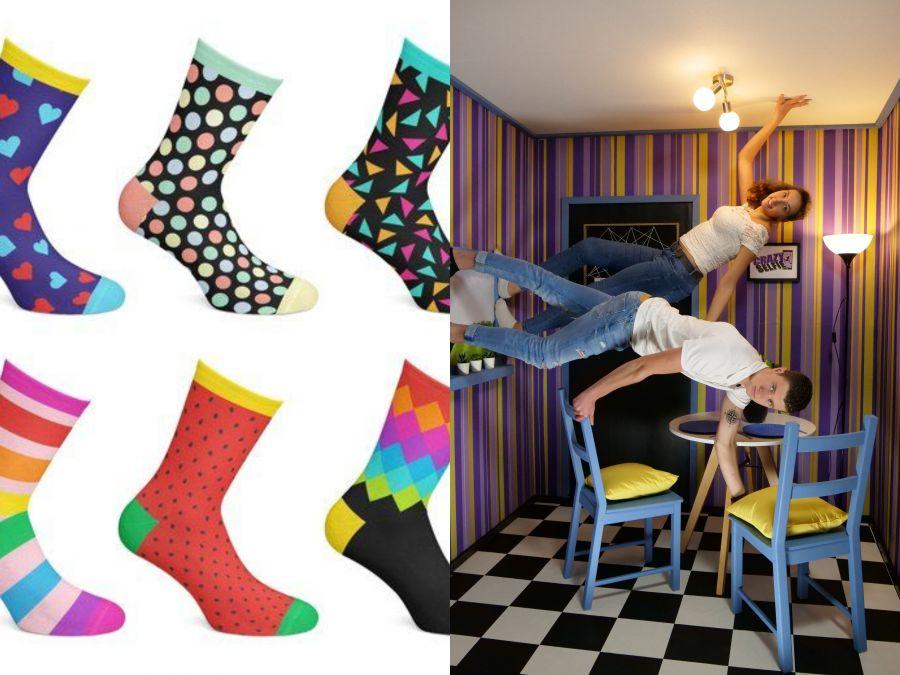 1 uur selfies maken incl. crazy socks