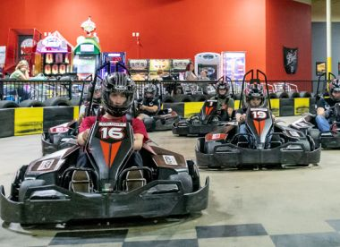 3 Go Kart races (Adults)