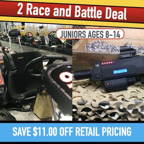 2 Race & Battle (Junior)