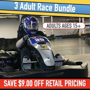 3 Go Kart Race (Adults)