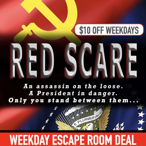 Red Scare Escape Room (Weekday)
