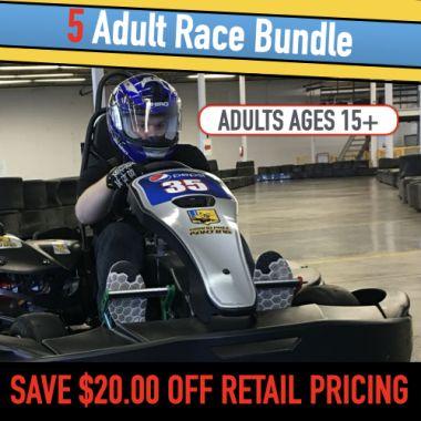 5 Go Kart Race (Adult)