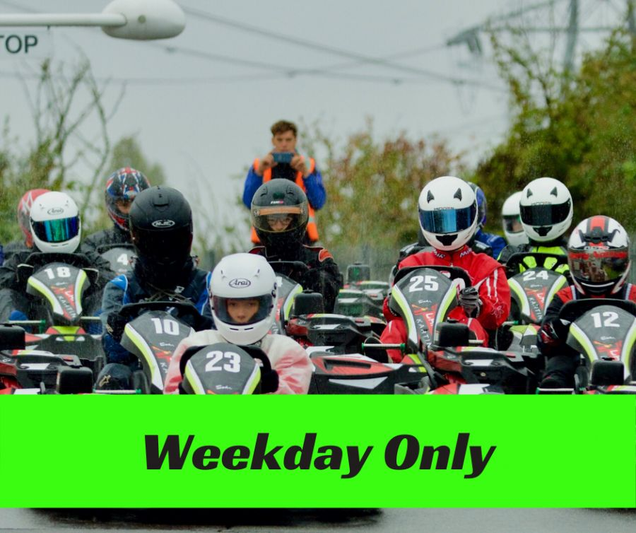 30 Minute Family Race Session (Exp Drivers Only) - Mid Week
