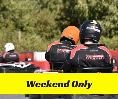 30 Minute Family Fun Session (Novice Drivers) - Weekend
