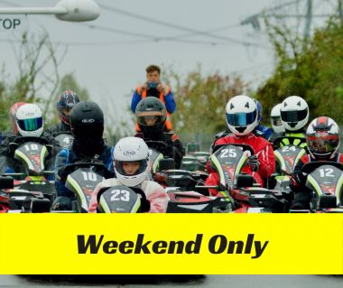 30 Minute Family Race Session (Exp Drivers Only) - Weekend