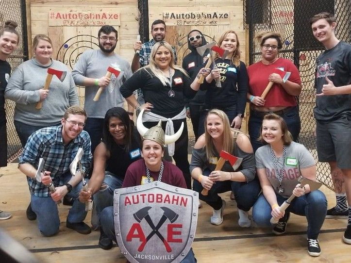 PRIVATE 1.5Hr Axe Throwing Session (Fri-Sun)