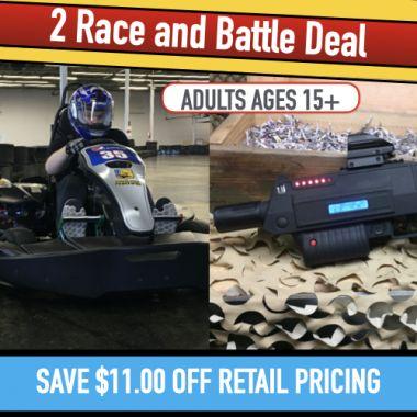 2 Race & Battle (Adults)