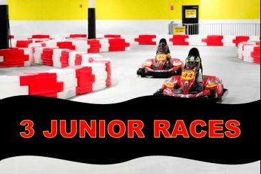 3 Junior Races