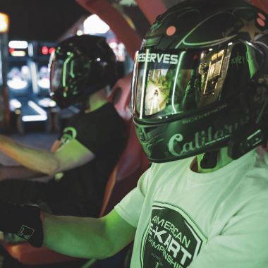 Save $3 1 Shared Race Reservation and 1 hr Unlimited Arcade Play (Age 13+, Fri-Sun)