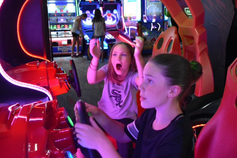 Save $7 1 Shared Race Reservation, 1 VR Session, and 1 hr Unlimited Arcade Play (Age 8-12, Fri-Sun)