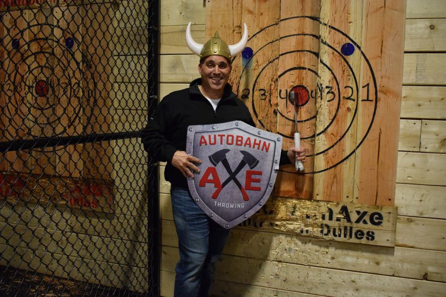 Shared 1.5Hr Axe Throwing Session