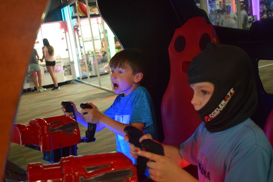 Save $3 1 Shared Race Reservation and 1 hr Unlimited Arcade Play (Age 8-12, Mon-Thurs)