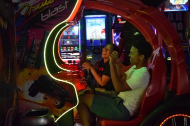 Save $7 1 Shared Race Reservation, 1 VR Session, and 1 hr Unlimited Arcade Play (Age 13+, Fri-Sun &