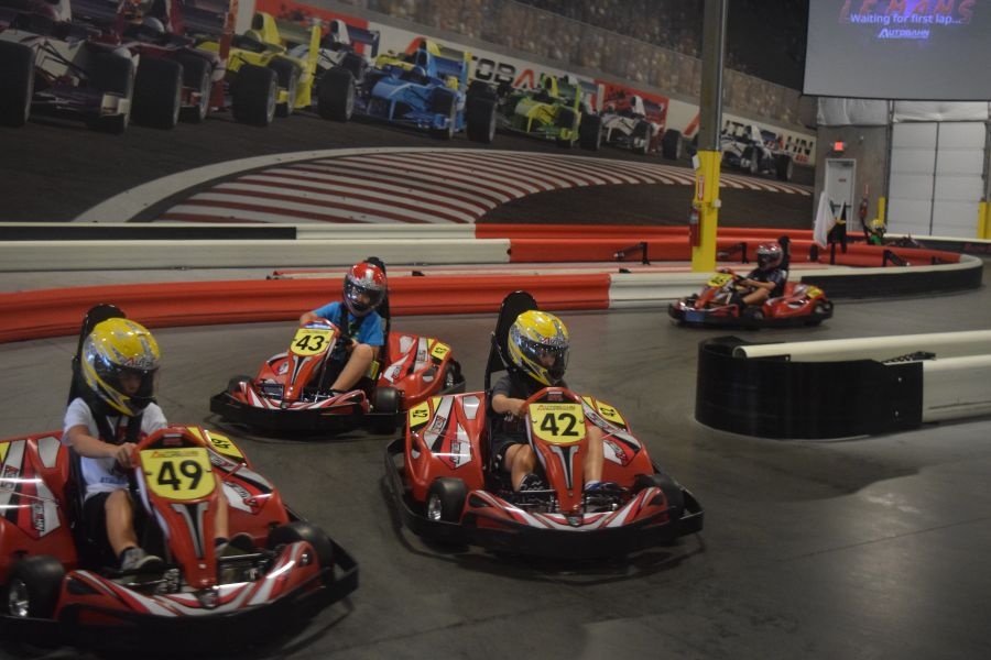Save $7 1 Shared Race Reservation, 1 VR Session, and 1 hr Unlimited Arcade Play (Age 8-12, Mon-Thurs