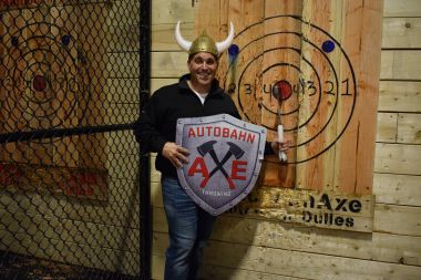 PRIVATE 1.5Hr Axe Throwing Session (Fri-Sun, holidays)