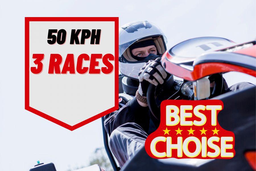 3 race package (Fri - Sat)