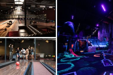 Bowlen & Glow in the Dark Golf