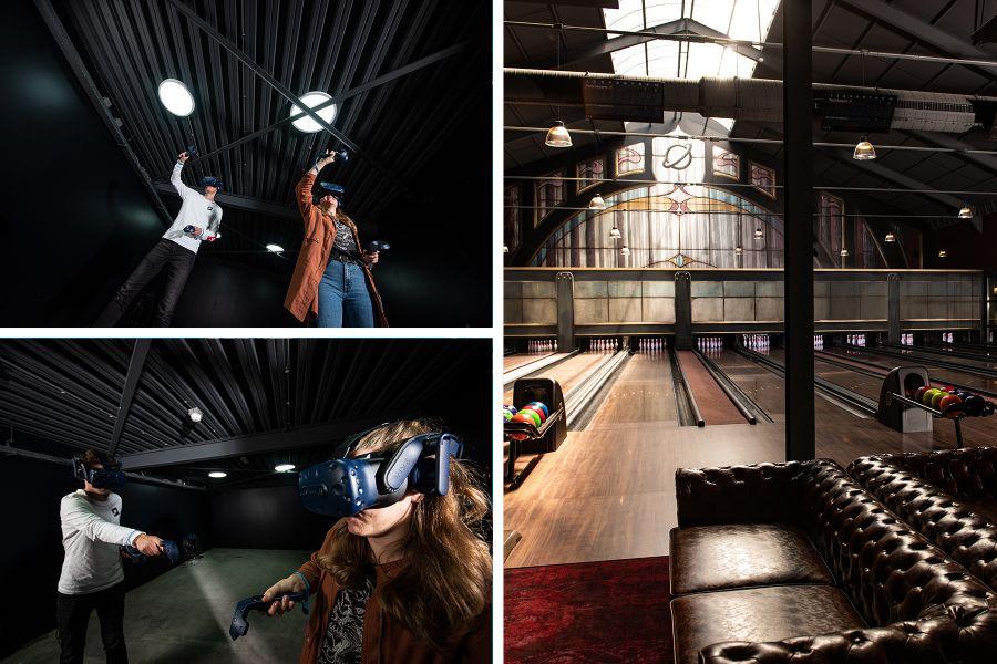 VR Escape game & Bowlen