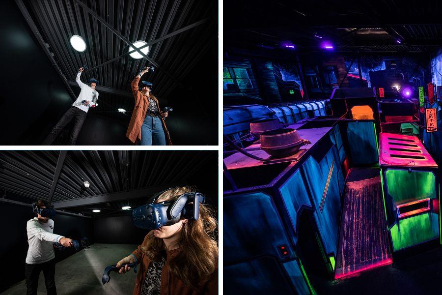 VR Escape Game & Lasergamen