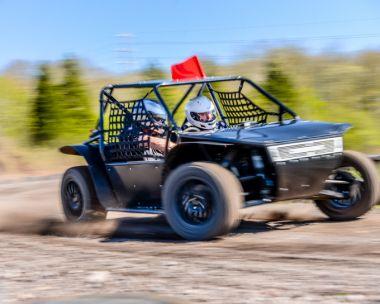 Rally Kart at Speed