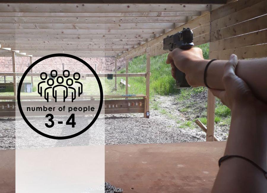 Air Pistols | 3-4 people