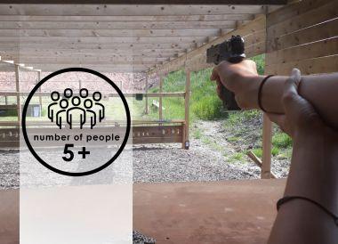 Air Pistols | 5+ people