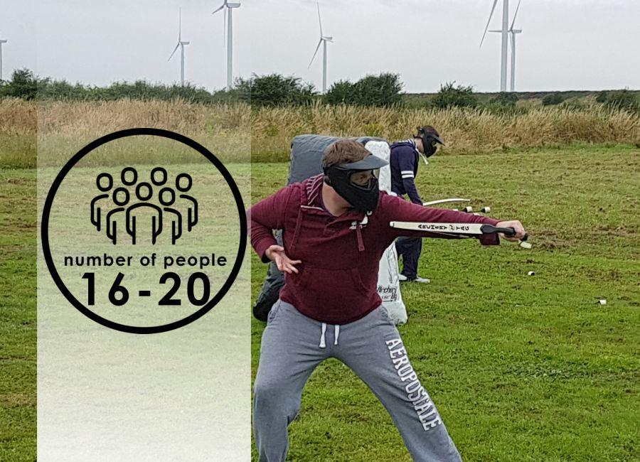 Archery Combat   16-20 people