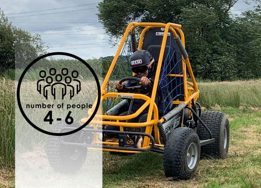 Dirt Karts   4-6 people