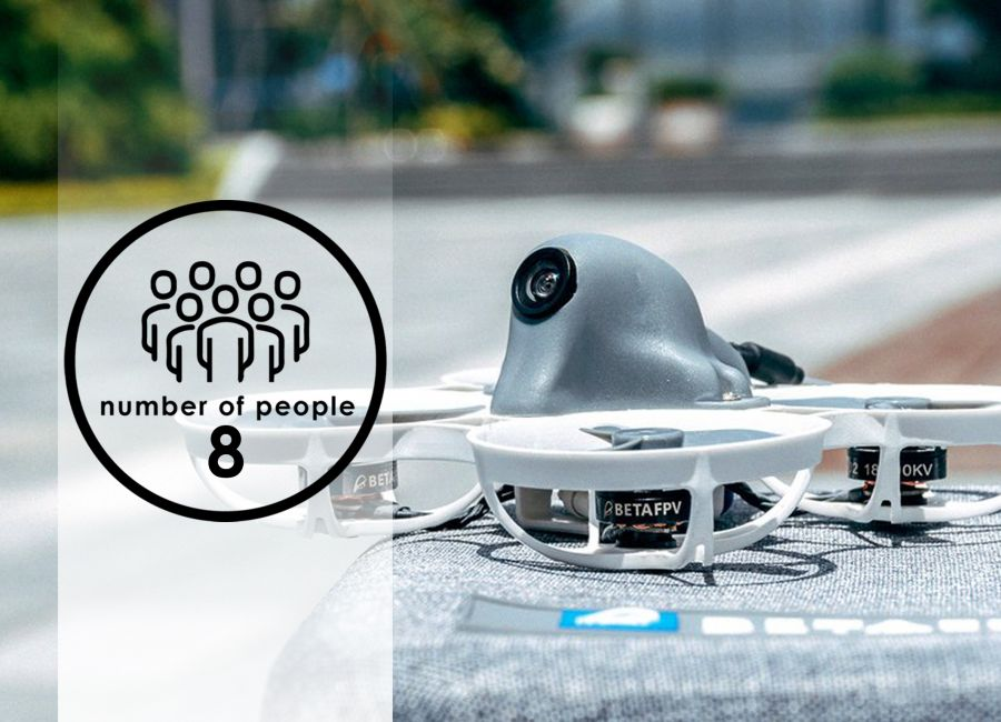 Drone Flying | 8 people