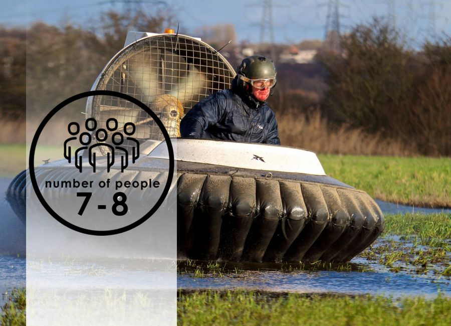 Group Hovercraft Duels   7-8 people